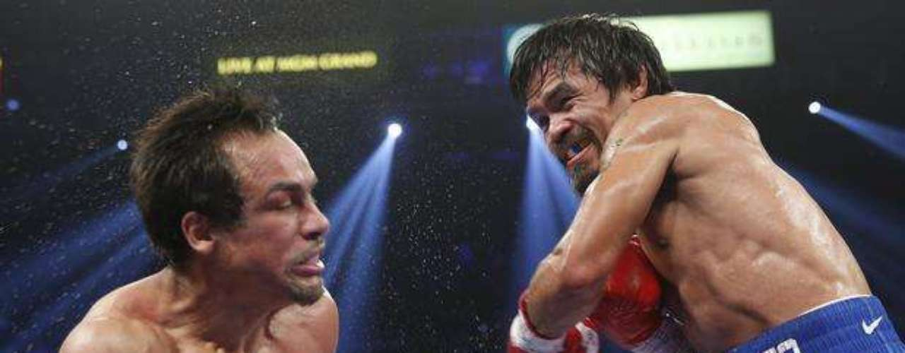 For his part, Marquez admitted that 'I knew that Manny (Pacquiao) could put me out of action at any time. What happened was I hit him perfectly, but it wasn't a product of luck since I have trained and worked for a long time.'