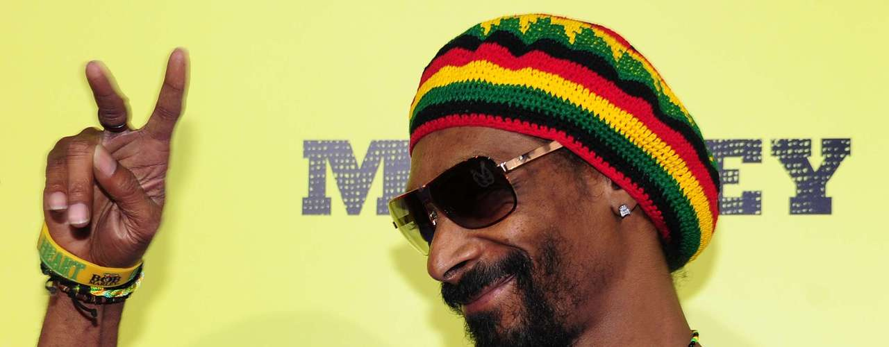 Snoop Dogg doesn't hide his love for the herb.