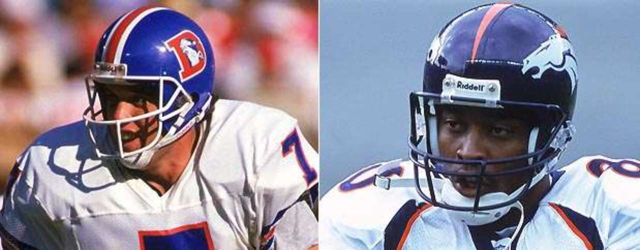 John Elway y Rod Smith jugaron juntos en las victorias consecutivas de Denver en los Super Bowl XXXII y XXXIII. Elway se llevó a casa el trofeo de MVP en XXXIII después de pasar para 336 yardas, incluyendo un pase de 80 yardas a Smith. Smith agarró 5 pases para 152 yardas en el juego.