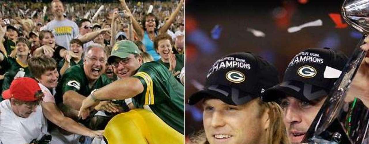 Los Green Bay Packers han pasado por sus altibajos desde el inicio de la franquicia en 1921, pero hay una constante: es la única organización sin fines de lucro, en la que la propiedad del equipo es de la comunidad. Al parecer, el método ha funcionado, pues Green Bay tiene un total de 11 títulos de la NFL, además de 4 Super Bowls, más que cualquier otro equipo.
