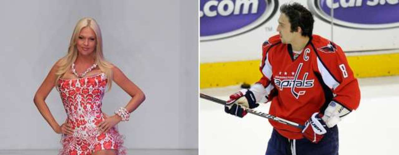 Russian hockey star Alexander Ovechkin has been linked to Miss Russia Victoria Lopryeva throughout his career.