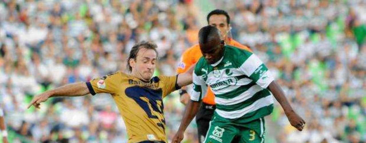 En la jornada 5, Darwin Quintero falló una jugada en la que Cándido Ramírez lo dejo solo para empujar el balón, y el colombiano mandó su remate por un lado de la portería.