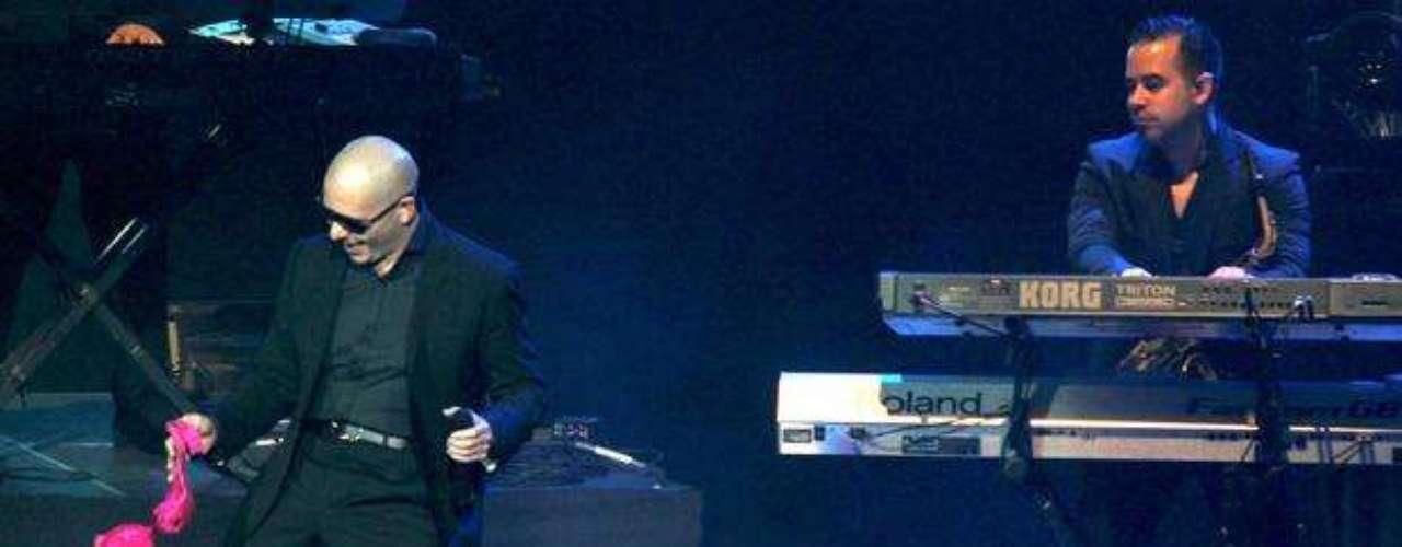 El 1 de diciembre de 2012, Pitbull llevó su grandioso \