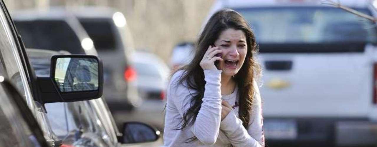 El pánico y la deseperanzase apoderaron delos testigos del la matanza.