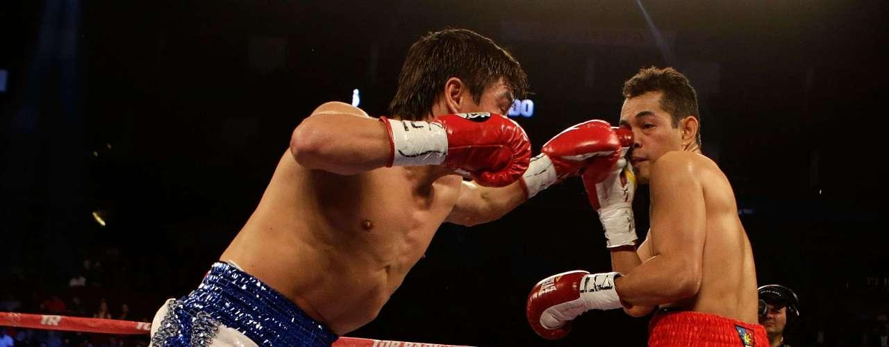 'Travieso' Arce no logró vencer a uno de los mejores boxeadores del momento.