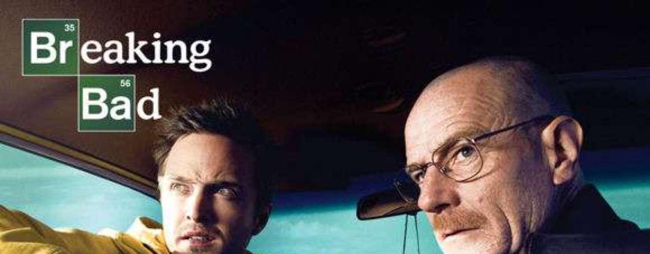BreakBreaking Bad. Drama que cuenta la historia de Walter White, un hombre que, tras ser diagnosticado de cáncer, se mete al mundo de las drogas.