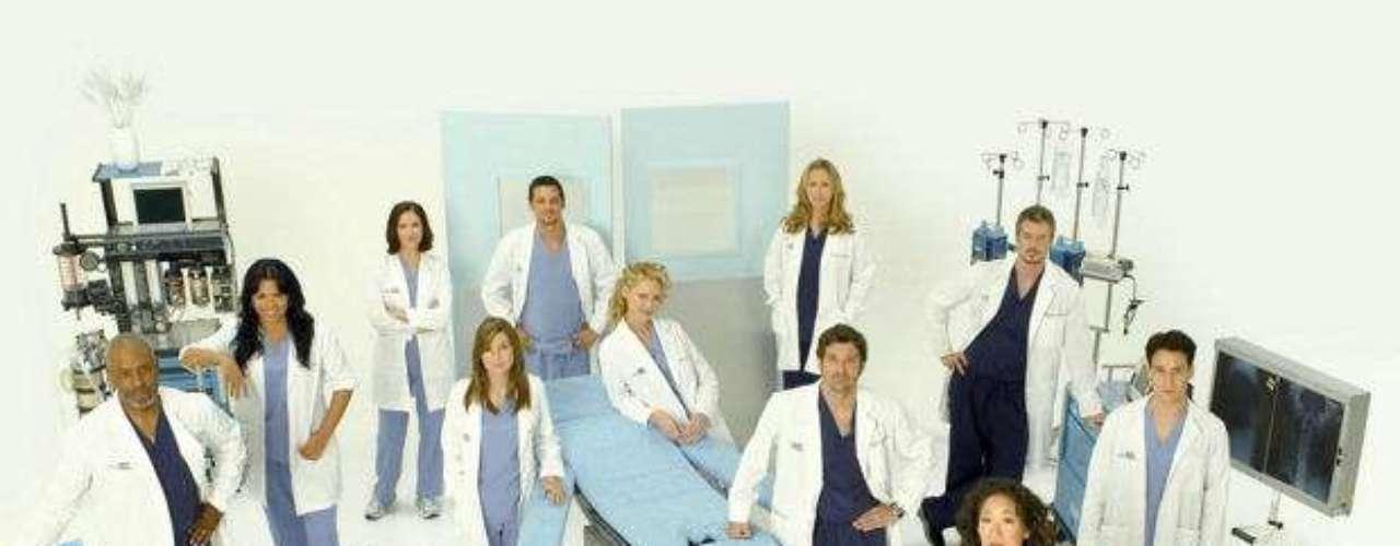 Grey's Anatomy. Uno de los dramas médicos más vigentes de los últimos años.
