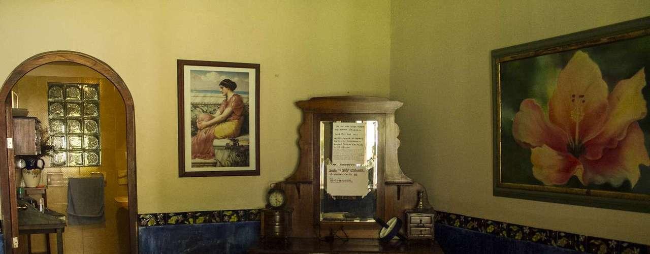 Esta es la habitación de Wilder Medina en la casa de recuperación en Subachoque, donde el goleador colombiano adelantó una parte de su recuperación.