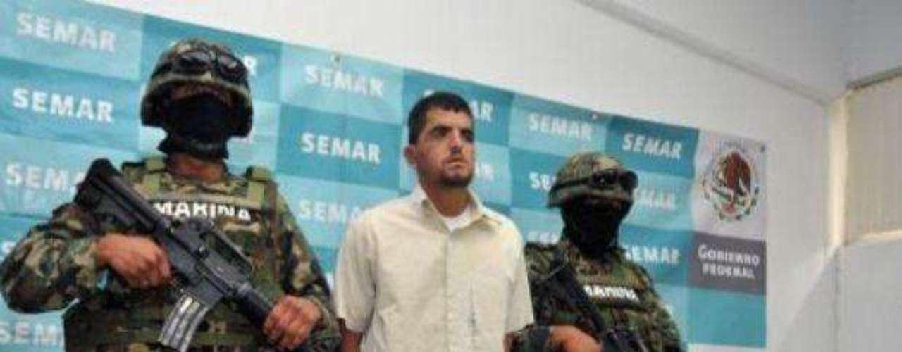 27 de julio del 2012.- Marinos capturaron en Puebla a Mauricio Guizar Cárdenas, \