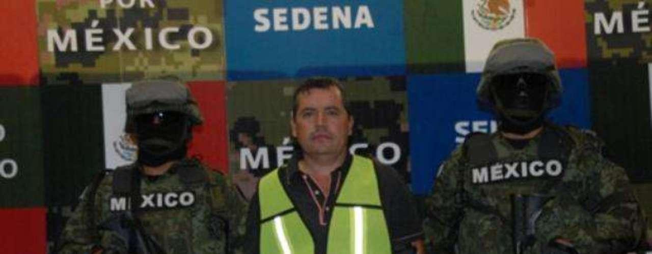 31 de octubre de 2012.- Elementos del Ejército mexicano capturaron en Hidalgo del Parral, Chihuahua, a José Salgueiro Nevarez, alias \