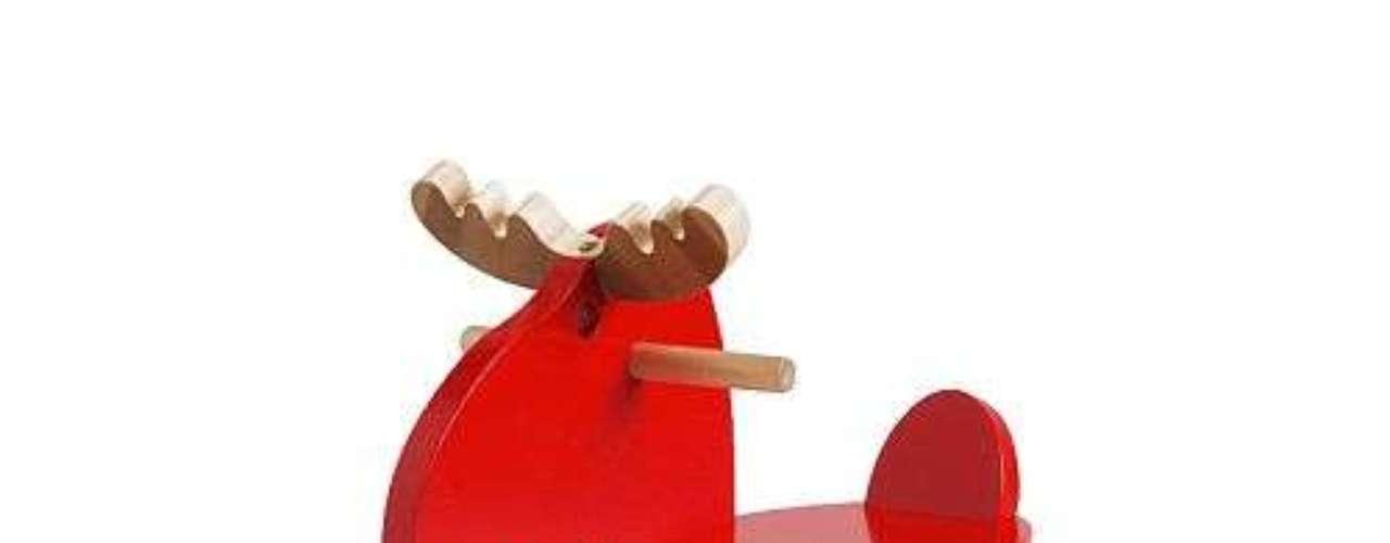 Caballito de madera para niños y niñas. 19.99 dólares en Ikea con la tarjeta de Membresía Familiar.