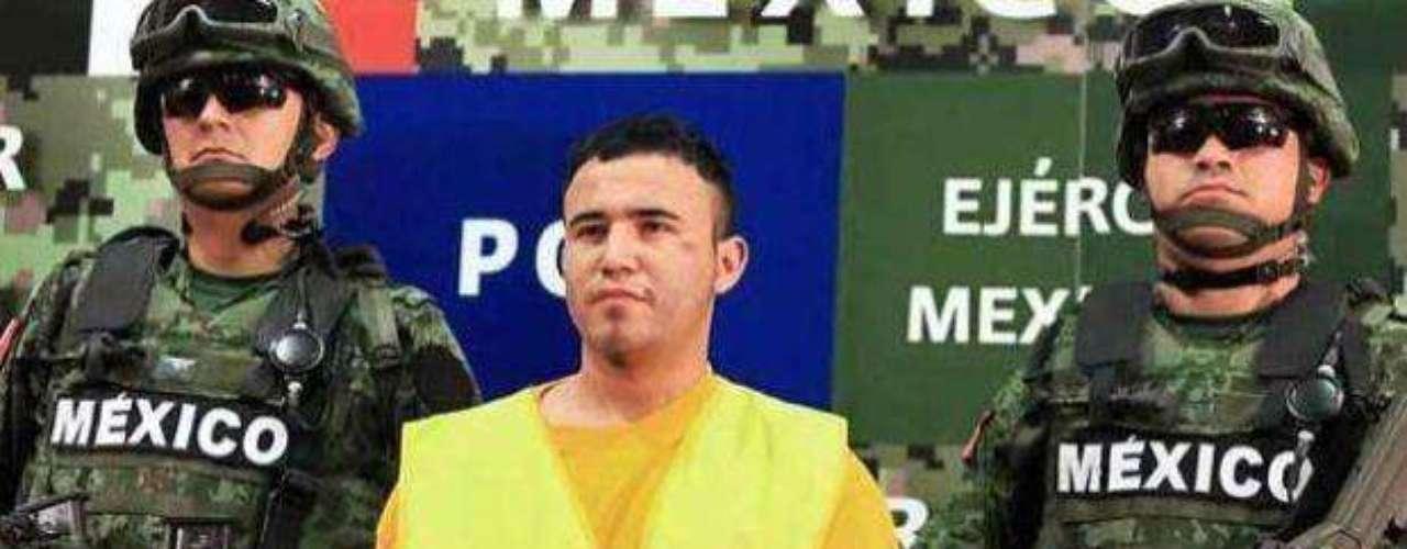 21 de mayo del 2012.- Fue presentado Daniel de Jesús Elizondo Ramírez, alias \