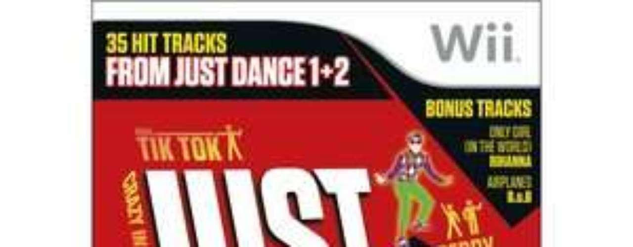 Just Dance greatests hits: un videojuego para toda la familia y todas las edades (además sirver para hacer ejercicio sin darse cuenta). 21 dólares en Walmart