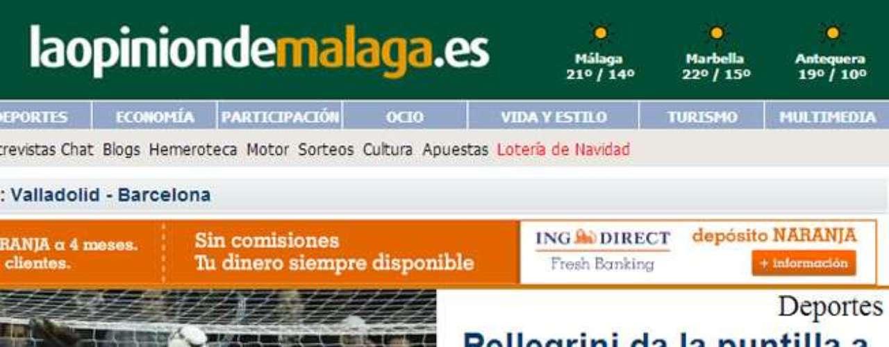 DIARIO LA OPIONIÓN DE MÁLAGA, MÁLAGA.