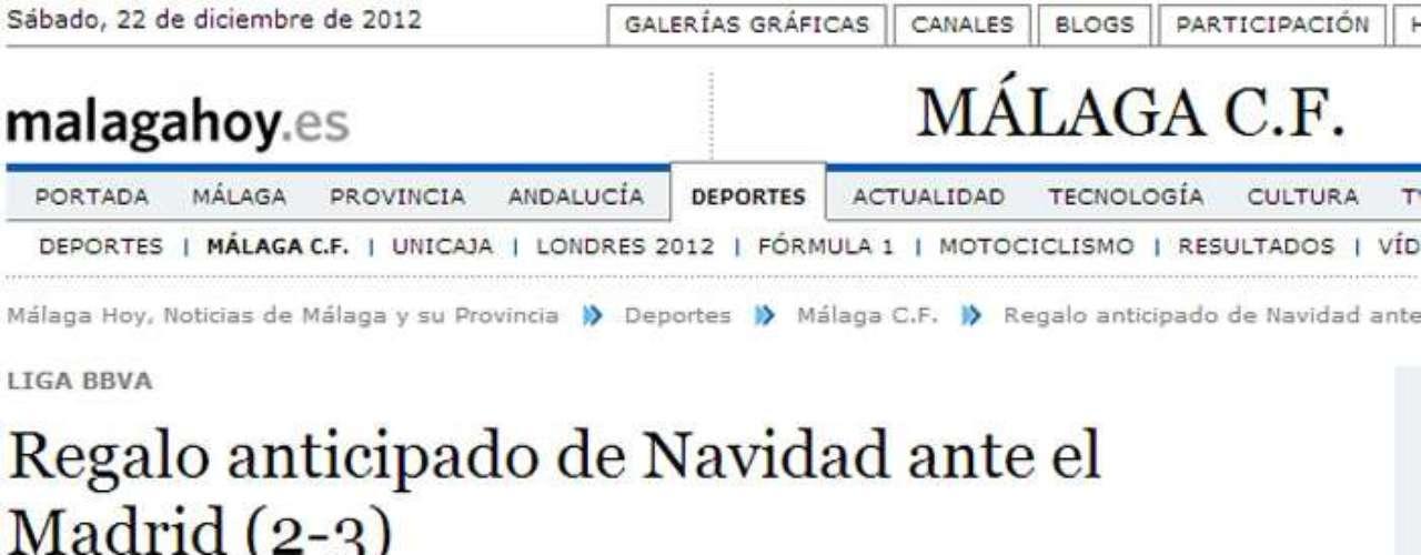 DIARIO MÁLAGA HOY, MÁLAGA.