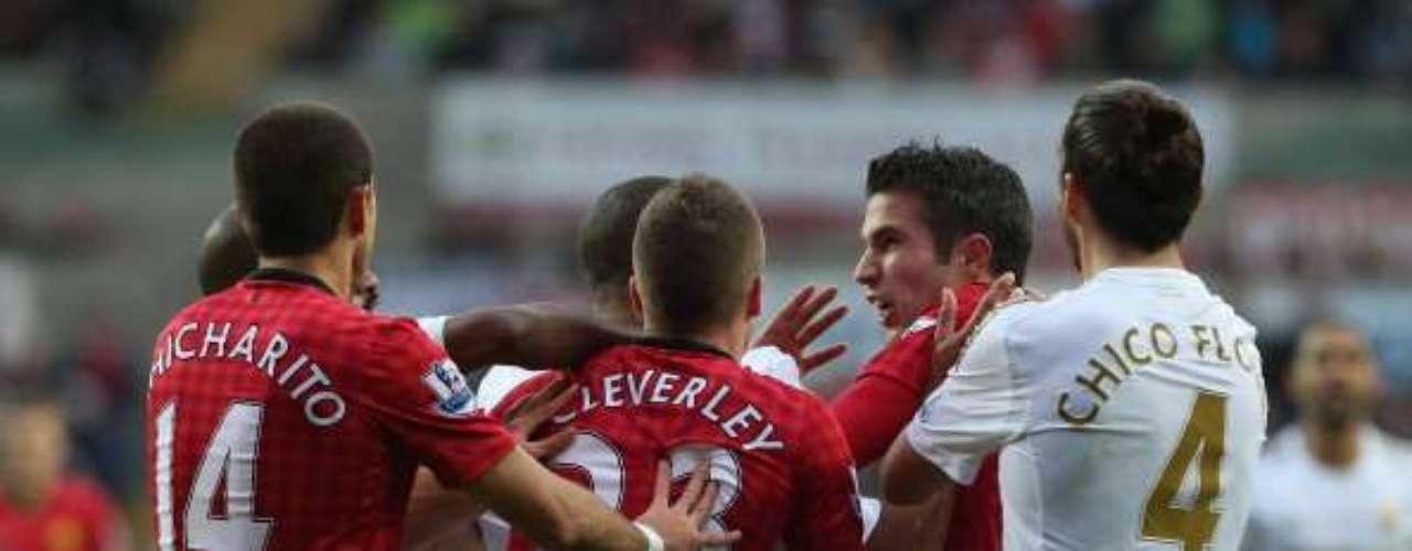 Este domingo, ante Swansea, jugó su partido 100.