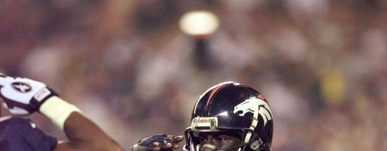 In 1998, Terrell Owens rushed for 2,006 yards with the Denver Broncos.