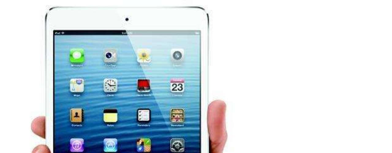 iPad mini: Vendido por 329 dólares en Estados Unidos, el iPad mini cuenta con una pantalla de 7.9 pulgadas y la misma resolución del iPad 2. El nuevo modelo tiene 7.2 mm de espesor y pesa sólo 250 gramos. El producto es un 23 por ciento más delgado y un 53 por ciento más ligero que la tercera generación del iPad.