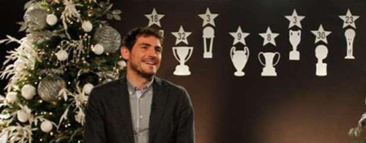 El capitán Iker Casillas mandó un mensaje especial para los aficionados del Real Madrid