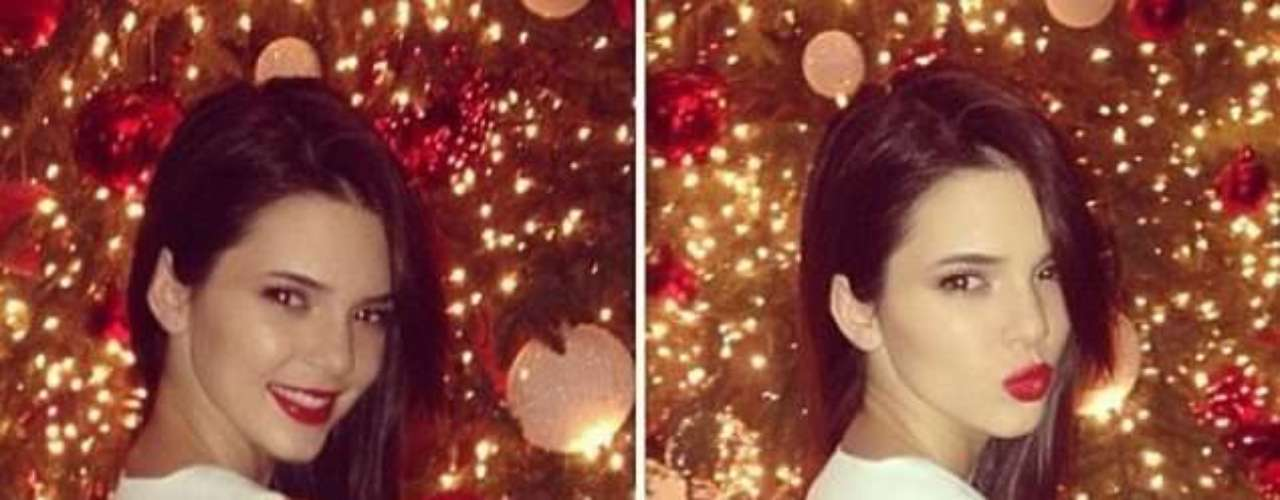 Súper sexy Christmas: Kyle Kardashian muestras sus atributos en la fiesta navideña de la familia