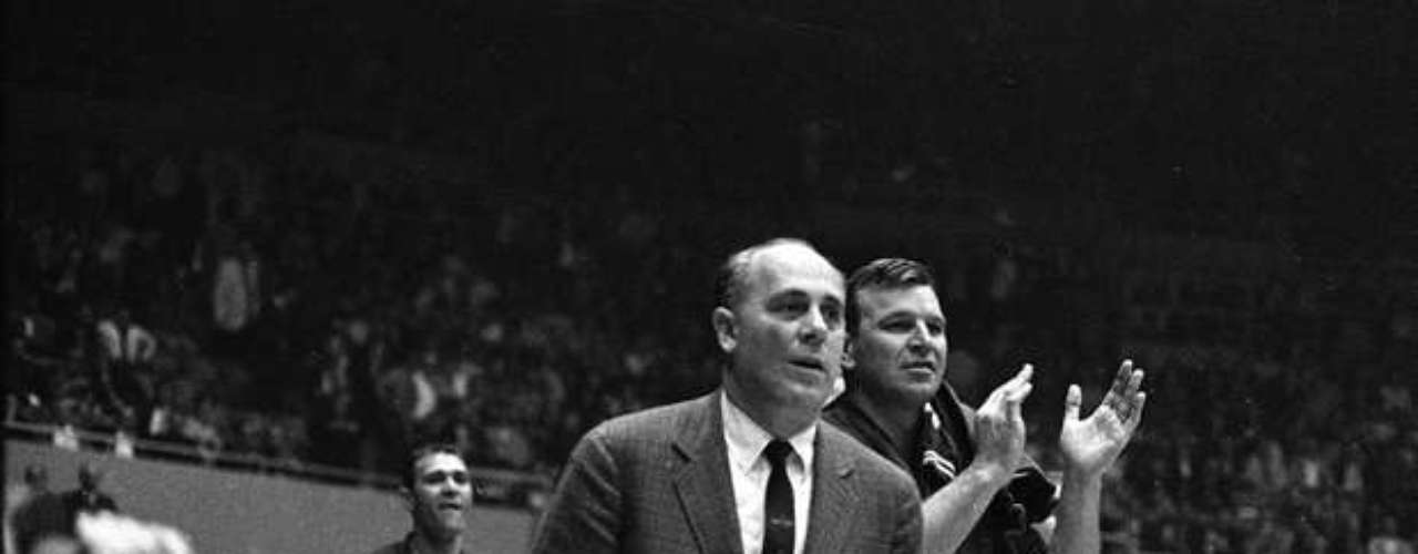 Red Auerbach began his historic coaching career with the ABA's Washington Capitols, with whom he had a 20 game winning streak spanning two seasons between 1947 annd 1949.