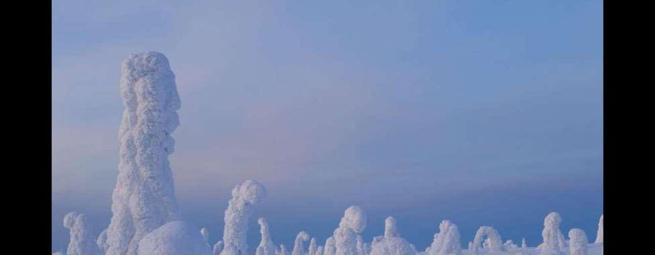 En invierno, el Ártico se congela y permanece en la oscuridad por meses.