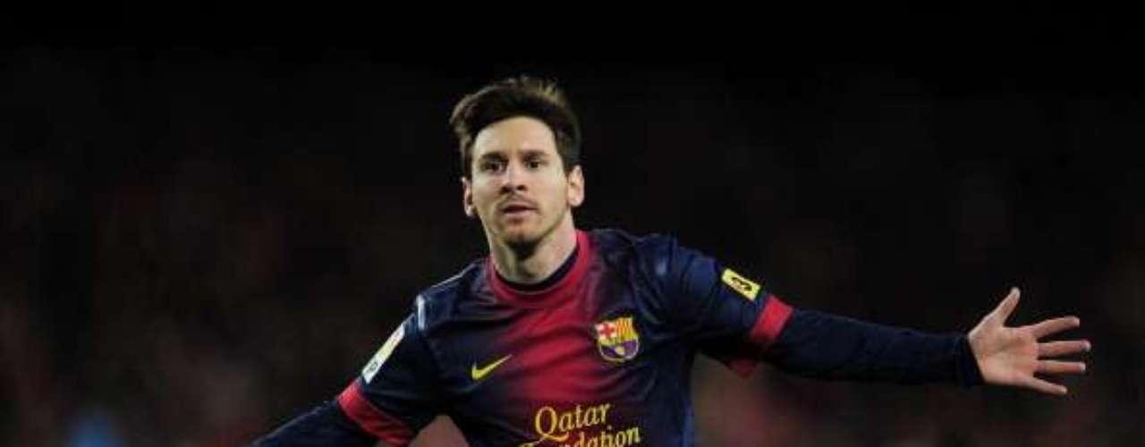 Lionel Messi es el mayor romperedes de toda Europa: 26 goles en los 17 encuentros ligueros del Barça.