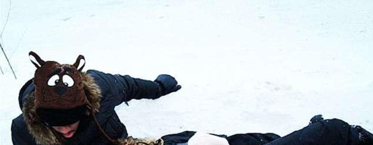 Mariah Carey y su familia disfrutan de la nieve en plena temporada de fiestas