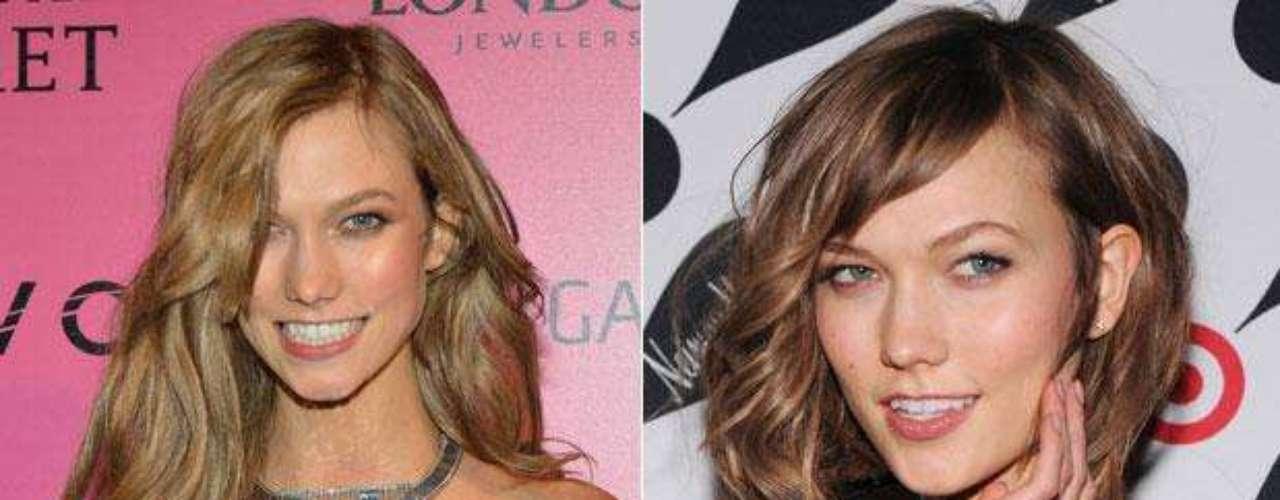 Karlie Kloss: el Ángel de Victorias Secret Karlie Kloss tomó una decisión drástica con su pelo: de ondulado y rubio pasó a corto y castaño.