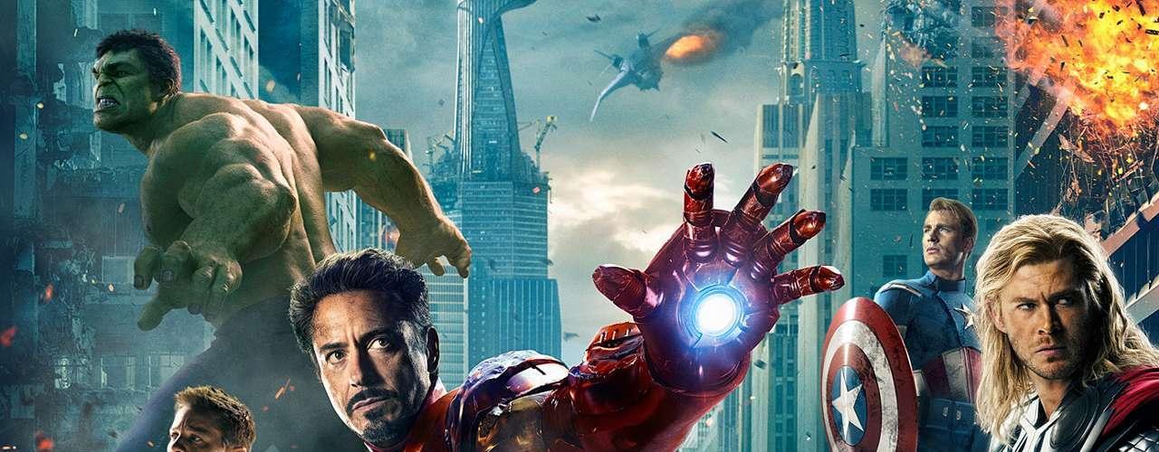 La película más taquillera de 2012 es también una de las más pirateadas de la red. 'The Avengers - Los Vengadores' ocupa el cuarto puesto del listado con 8.11 millones de descargas ilegales.