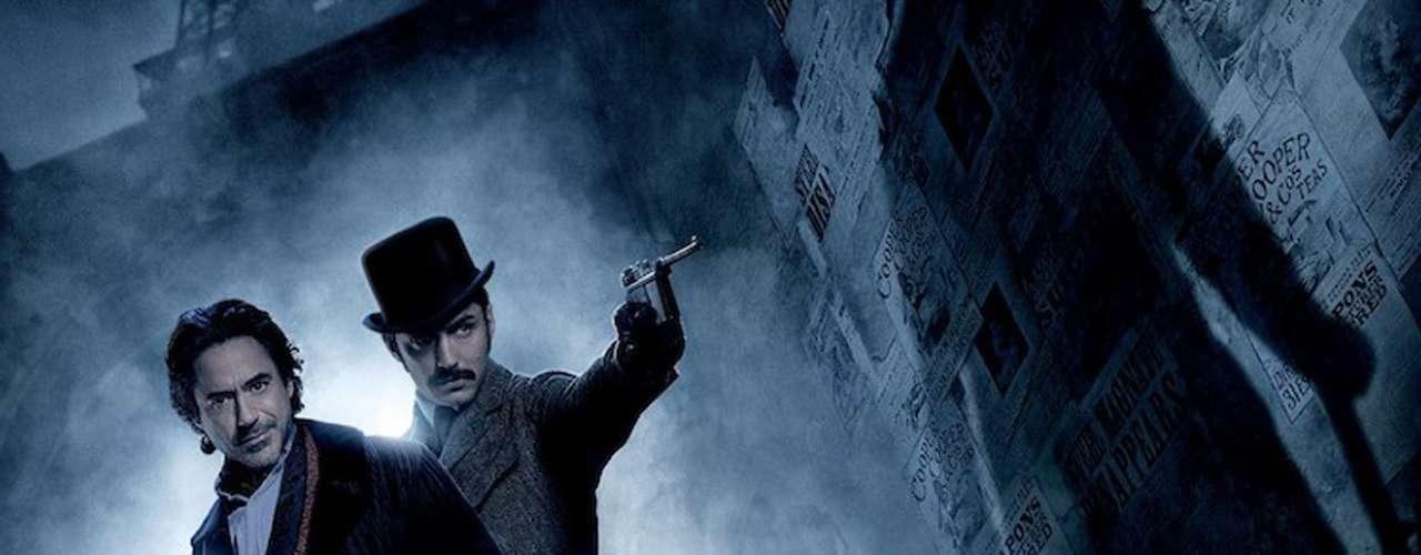 Robert Downey Jr. hace el cuatro-cinco con la franquicia 'Sherlock Holmes', cuya secuela, 'Juego de Sombras' llegó a la cartelera mundial a finales de 2011. La cinta fue descargada ilegalmente 7.85 millones de veces.