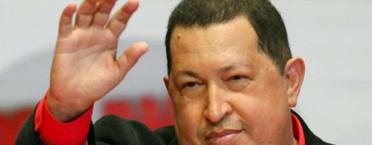 El presidente de Venezuela, Hugo Chávez, en una imagen cuando la enfermedad estaba avanzada