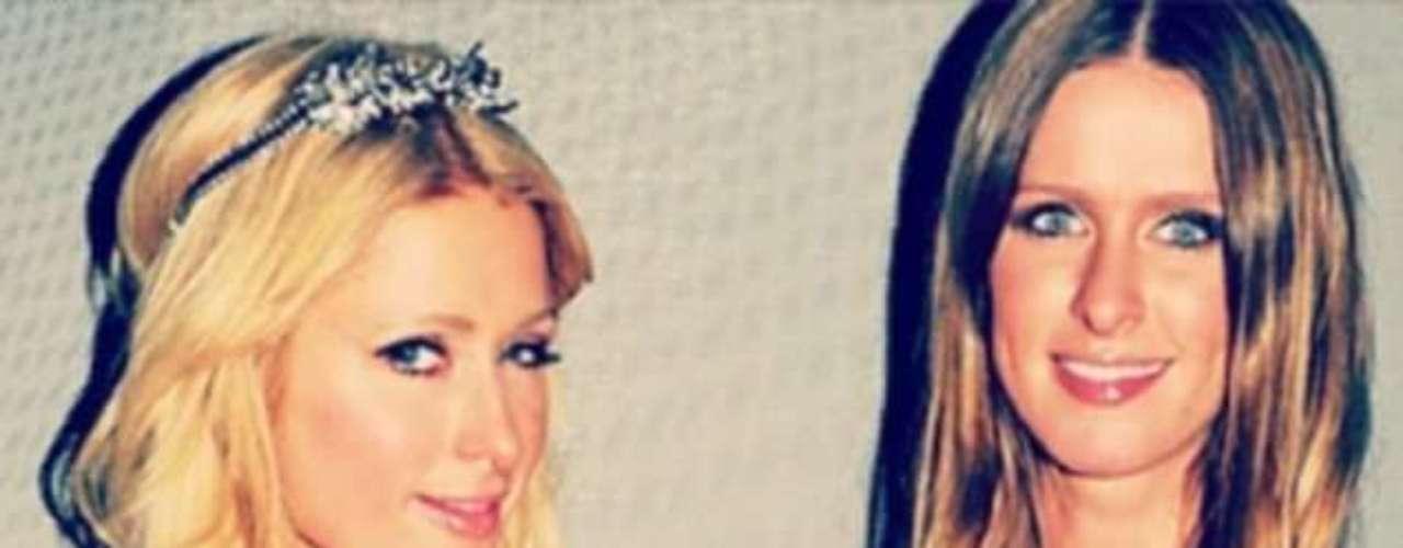 Las hermanas Hilton, Paris y Nicki, también celebraron la llegada del 2013 de fiesta.