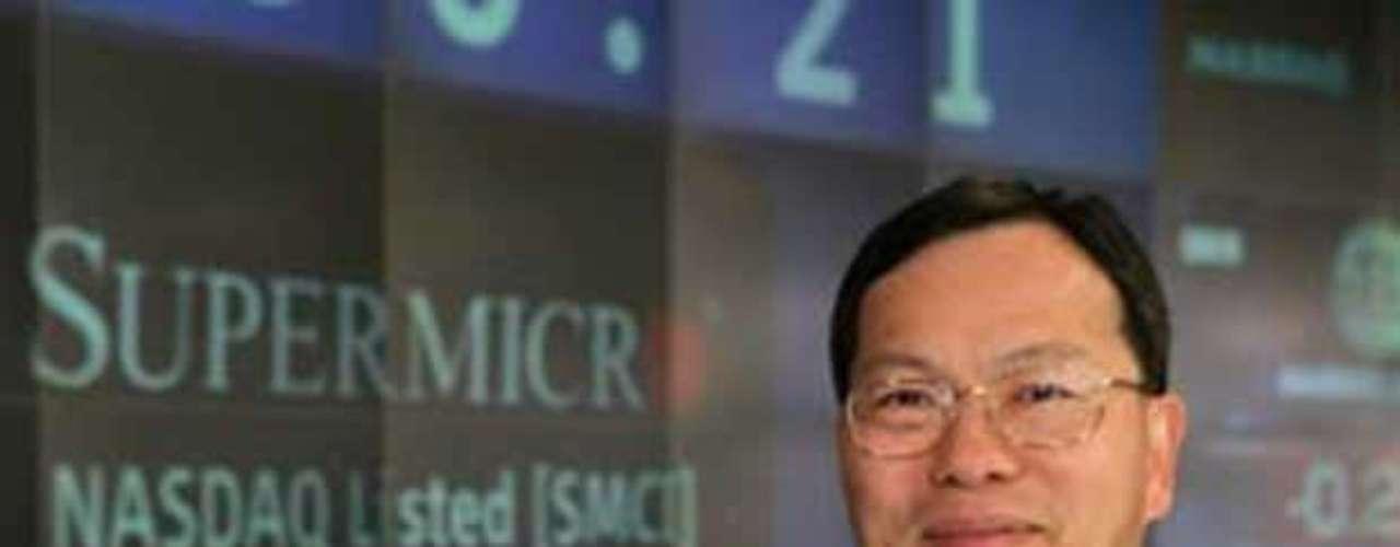 10 - Charles Liang -fundador y CEO de Super Micro Computer (US$ 5,2 millones)