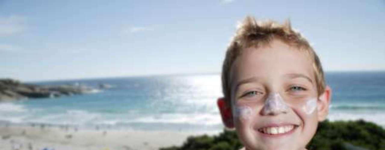 DE 5 a 12 AÑOS: Usar siempre protector solar para las actividades al aire libre en primavera y verano