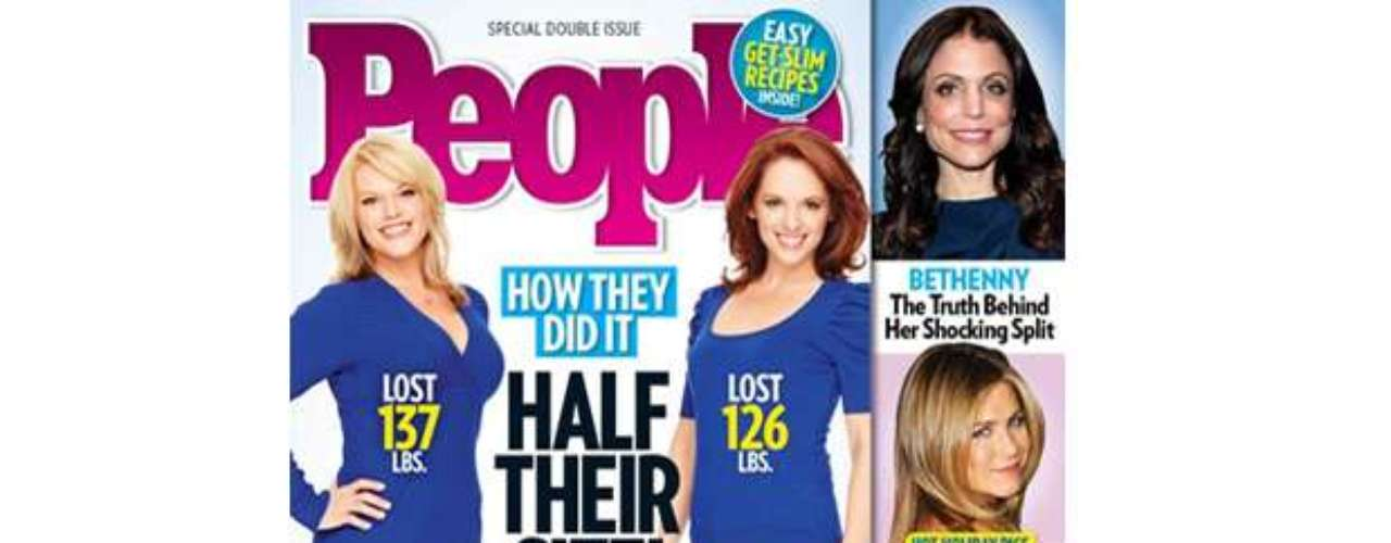 Wow! Check out these inspirational weight loss stories for the new year. We all KNOW how difficult it is to hit the gym and stick to a healthy diet. People's latest issue will certainly motivate a lot of its readers. Happy 2013, everyone! (Terra USA/Dennis Pastorizo)