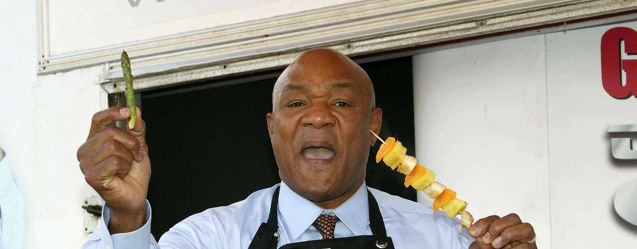 George Foreman (George Foreman Grill, 1994-present): George Foreman was a ferocious heavyweight fighter who destroyed any opponent in his path in the 1960 and 70s on his way to the title. The Foreman of the 1990s, though, well, that was another person altogether. The year he won the belt for the last time, 1994, Foreman partnered with inventors of a grill, and he became the face and name behind one of the most popular cooking appliances of the last two decades. Foreman's goofy informercials advertising the product helped make it the success it became.