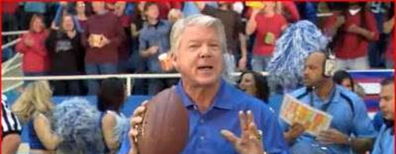 Jimmy Johnson (ExtenZe, 2010): Former Dallas Cowboys and Miami Hurricanes coach Jimmy Johnson surprised and horrified everyone when he started appearing in commercials for ExtenZe, revealing a side of himself most of America probably wishes he had hidden. And for those who forgot, Johnson's tagline was, 'Go long with ExtenZe. I do.'