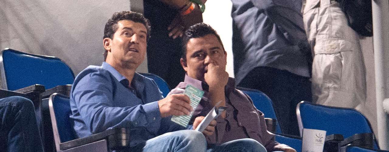José Manuel de la Torre, coach of the Mexican natonal team, was at the match.
