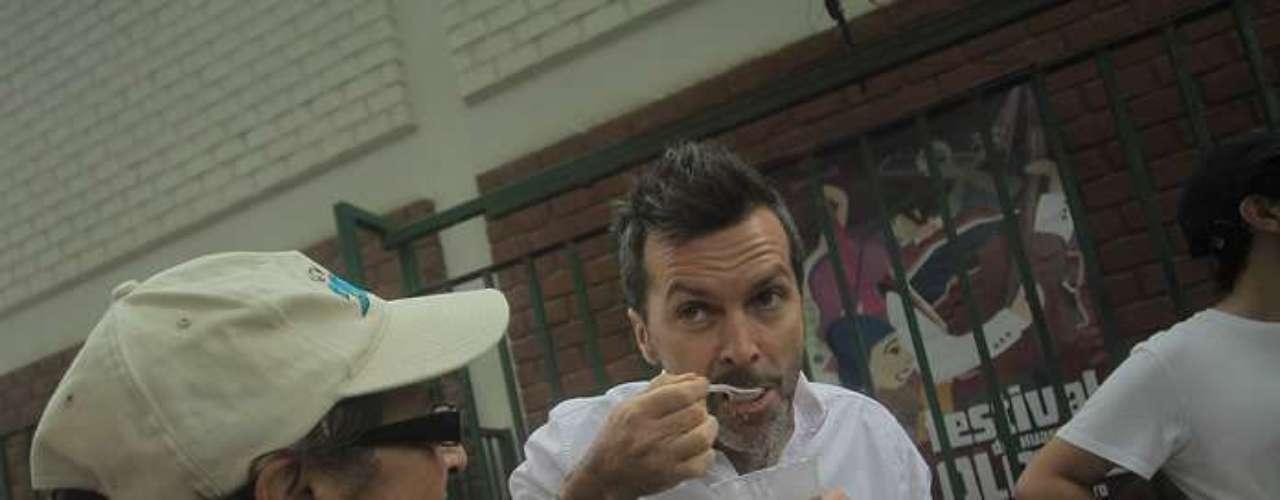 Cristián Sánchez fue presentado oficialmente como animador de la nueva versión del Festival de Olmué que se desarrollará entre el 18 y 20 de enero. Acudió con su pareja Diana Bolocco y sus hijos