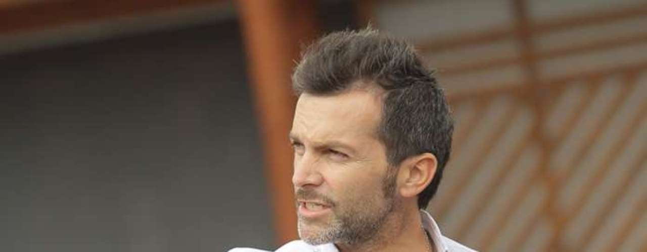 El animador Cristián Sánchez revisó  los preparativos para la nueva versión del Festival de Olmué que se desarrollará entre el 18 y 20 de enero.