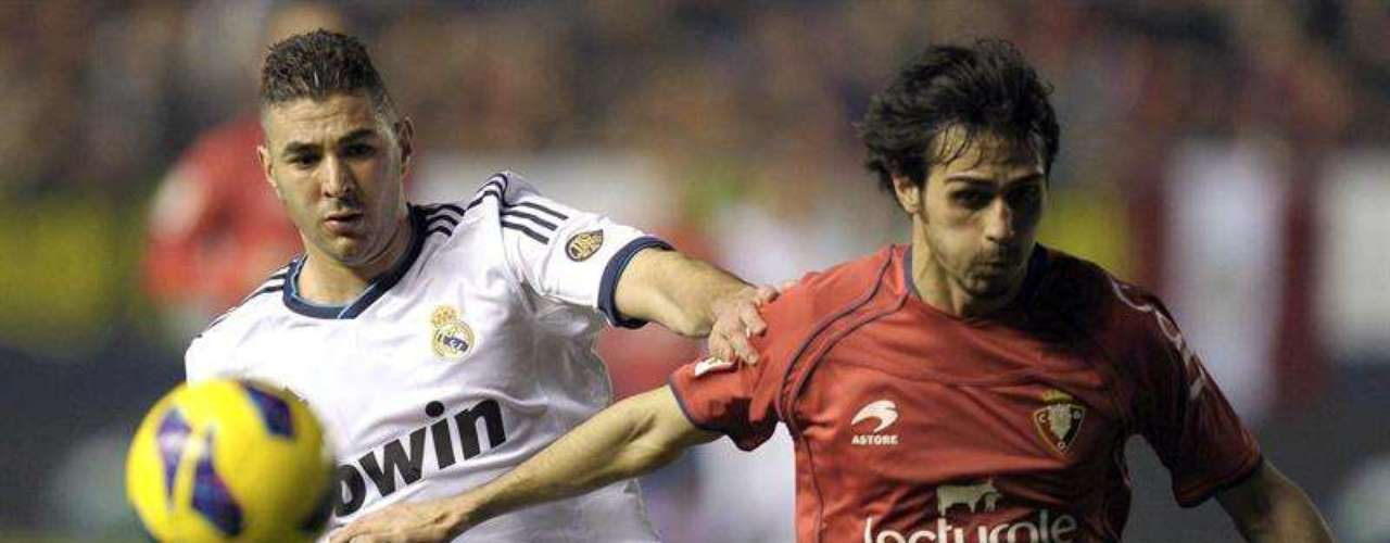 TheMerengues did not have Ronaldo and thus could not find the back of the net ina 0-0 draw at last-place Osasuna.