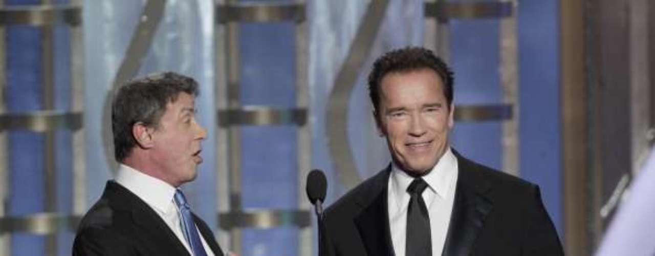 Graciosísimo fue que eligieran a Sylvester Stallone y Arnold Schwarzenegger para presentar el Filme de Lengua Extranjera, siendo que ambos no se les entiende una gota de inglés, lo cual disfrutaron ampliamente entre bromas. El premio paró en manos de \