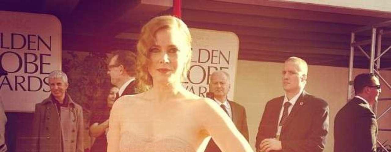 Así lució la actriz Amy Adams, quiencomparte cartel en \