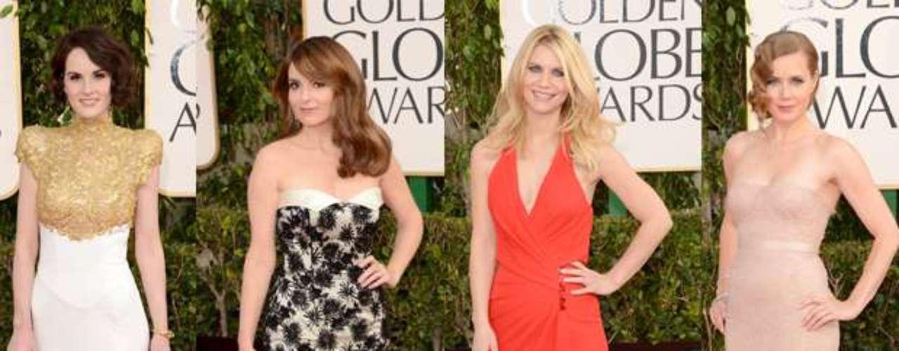 Estamos en las nubes en los Golden Globes 2013 con la moda de la crema y nata de Hollywood. Las actrices se han puesto sus mejores trapitos y aquí les decimos quienes fueron los mejores y peores vestidos de la noche.