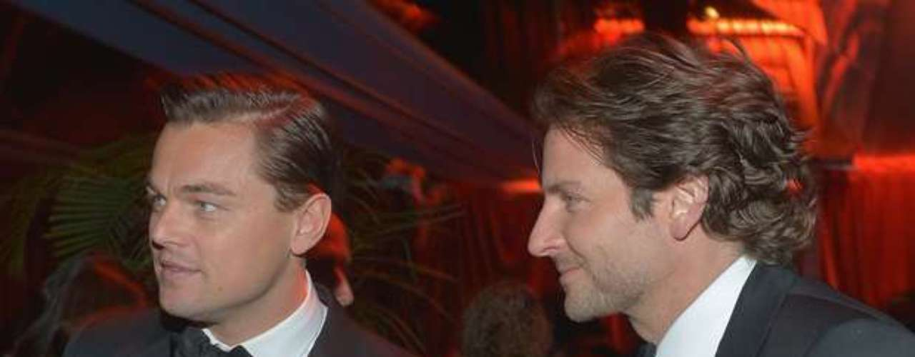 Talk about a pair of hunks: it's Leonardo DiCaprio alongside Bradley Cooper!