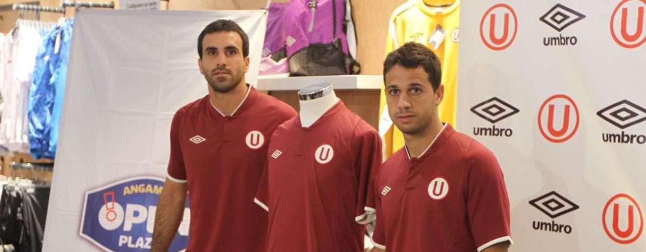 Esta es la camiseta guinda, la alterna que usará el equipo en condición de visitante.