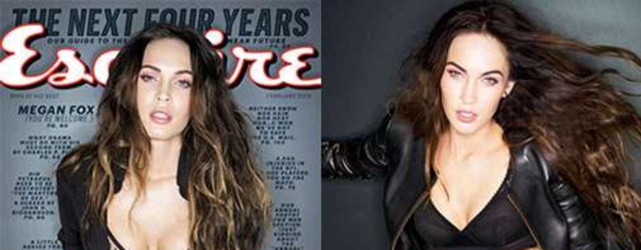 Actualmente Megan luce fantástica así lo demostró en la reciente sesión de fotos que realizó para la revista Esquire. Leyenda Original:
