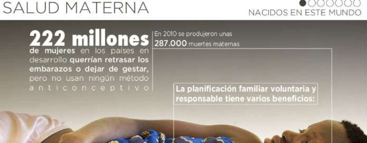 En el site de Shakira y Piqué también se difunden cifras sobre la maternidad en el mundo, los embarazados no deseados y el acceso a métodos anticonceptivos.