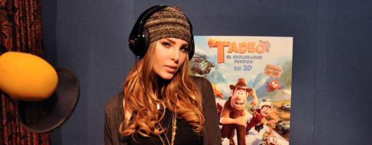 Belinda fue la elegida para que su voz se escuchara en toda Latinoamérica en el doblaje de la cinta.